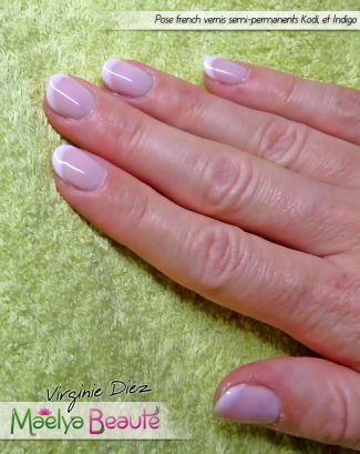 pose french vernis semi-permanent